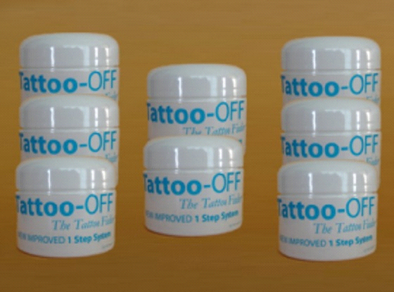 Tattoo off tattoo removal system 8 month suppl for Tattoo removal products