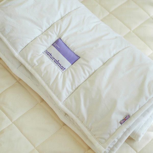 Natural Mat Organic Baby Crib Bed Organic Wool Mattress