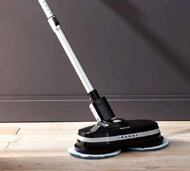 Aircraft Black Powerglide Cordless Rechargeable Hard Floor Cleaner