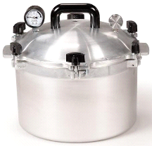 All American 15.5 Quart Pressure Cooker (BACKORDERED)