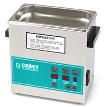 Crest 3.25 Gallon CP1100D Ultrasonic Heated Cleaner