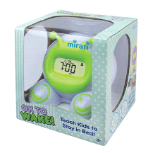 Onaroo OK To Wake Kids Alarm Clock & Nightlight
