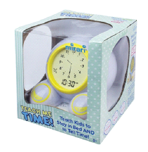 Onaroo Teach Me Time Kids Alarm Clock & Nightlight