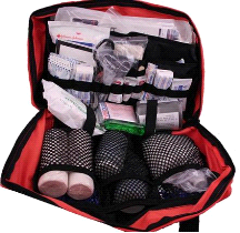 Fully Stocked Master Camping First Aid Trauma Kit Bag
