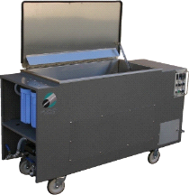 110 Gallon Omegasonics Heated Ultrasonic Cleaner