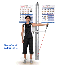Thera-Band Professional Exercise Rehab Wall Station