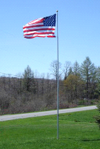 20' Tele-Pole 6013 10 Gauge Aluminum Telescoping Superior 1 Flagpole