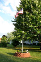 New 25' Tele-Pole 6013 10 Gauge Aluminum Telescoping SILVER Superior 1 Flagpole
