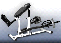 Yukon Fitness ABM-157 Commercial Angled Back Exercise Machine