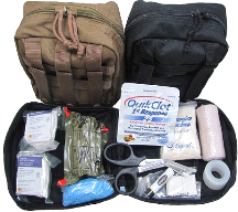 Fully Stocked Military IFAK Medical First Aid Bag