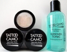 Tattoo Camo Complete Coverage Tattoo Concealer Paste Double Kit w/ Remover