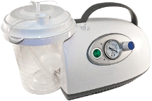 Roscoe Medical Portable Suction Machine w/ DC Battery Power