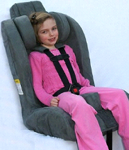 The Roosevelt Standard Special Needs Seat w/ EZ Up Head Rest
