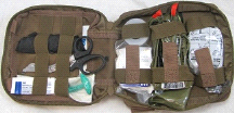 Fully Stocked FA200 Enhanced IFAK Medical First Aid Bag