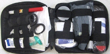 Fully Stocked FA201 Enhanced IFAK Level II Medical First Aid Bag