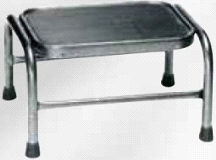 Armedica AM-840 Non Slip Stainless Steel Footstool w/ Rubber Tread