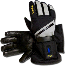 Volt Heat 7V Tatra Heated Textile Waterproof Snow Gloves GREY