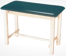 Armedica AM-620 Wood Taping Table w/ H-Brace Support