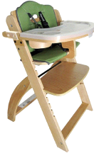 Abiie Eco-Friendly EZ Seat Y Chair High Chair