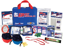 Quake Kare Fully Stocked Ultimate Deluxe Dog Survival Kit