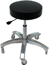Touch America Pro Stool Spin Lift Therapist Exam Stool Chair Seat