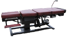 MT Tables Manual Flex Distraction Table w/ Tilting Head Rest