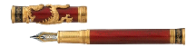 David Oscarson Water Dragon Collection Fountain Pen
