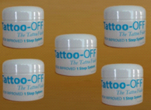 Tattoo-Off Tattoo Removal System 5 Month Supply