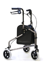 GF Health Products 609201P Lumex 3-Wheel Pewter Walk Assist Cruiser
