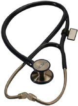 MDF 797DD ER Premier Black Adult and Pediatric Stethoscope
