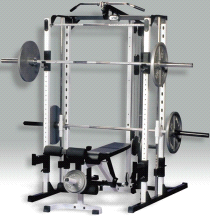 Yukon Fitness CII-140 Caribou III Squat Lifting Machine System