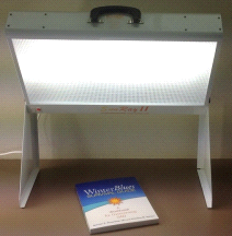 SunBox SunRay II Light Therapy Desktop Lightbox Sunbox