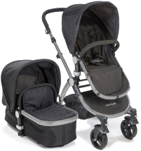 Baby Roues LeTour II Lightweight Compact Stroller w/ Bassinet