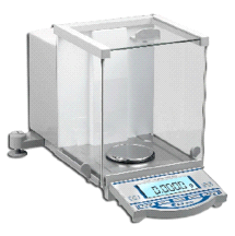 Accuris W3100-120 Analytical Electromagnetic Balance Scale W/ LCD Panel