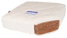 Natural Mat COCO Organic Baby Crib Mattress