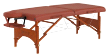 "Master Massage 25"" Fairlane Portable Massage Table Package w/ Carrying case"