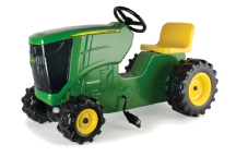 Tomy John Deere Plastic Pedal Tractor Childrens Ride On Toy
