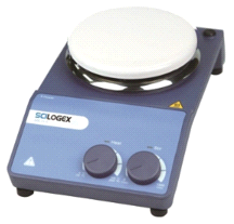 Scilogex MS-H-S Circular Top Analog Magnetic Stirrers w/ Porcelain Plate