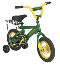"Tomy John Deere Heavy Duty 12"" Boy's Bicycle"