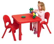 Angeles My Value Set #2 Childrens Play Table Set