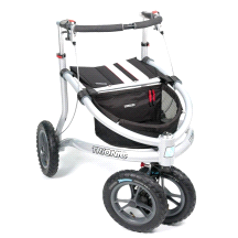 Trionic Veloped Tour Outdoor Fitness Walker Medium Black/Reflex/Red