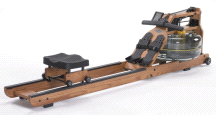 First Degree Fitness Viking 2 AR Home Fluid Water Rower Machine