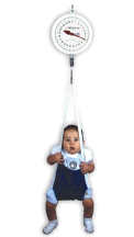 Detecto MCS25KGNT Suspended Baby Infant Physician's Hanging Weighing Scale