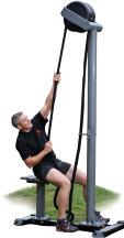 Ropeflex ORYX 2 RX5500 Outdoor Rope Pulling Resistance Machine