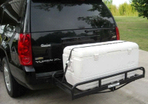Great Day Hitch n' Ride Auto and Truck Cargo Hauling Hitch Attachment
