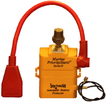 PriorityStart! Marine Boat Watercraft 12V Battery Vehicle Start Protector
