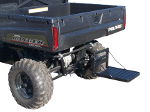 Great Day Hitch Step Platform for Step Up Access to UTV Rear Bed