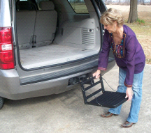 Great Day HU200B Hitch-Up Pet Step Up Platform for Vehicles