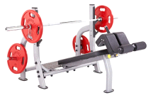 Steelflex NODB Olympic Decline Weight Lifting Bench