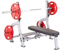 Steelflex NOFB Olympic Flat Weight Lifting Bench